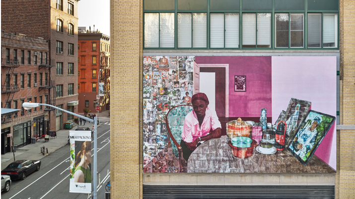 From Lagos to New York: Nigerian artist Njideka Akunyili Crosby, Before Now After, 2015. Whitney Museum of American Art, New York